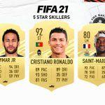 FIFA 21. Todos los skillers de 5 estrellas