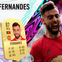 FIFA 21. Review de Bruno Fernandes