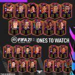FIFA 21. Predicción de los Ones to Watch