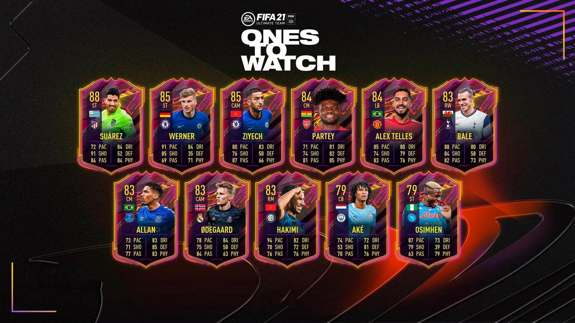 Ones to Watch de FIFA 21