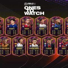 FIFA 21. Segundo equipo de los Ones to Watch