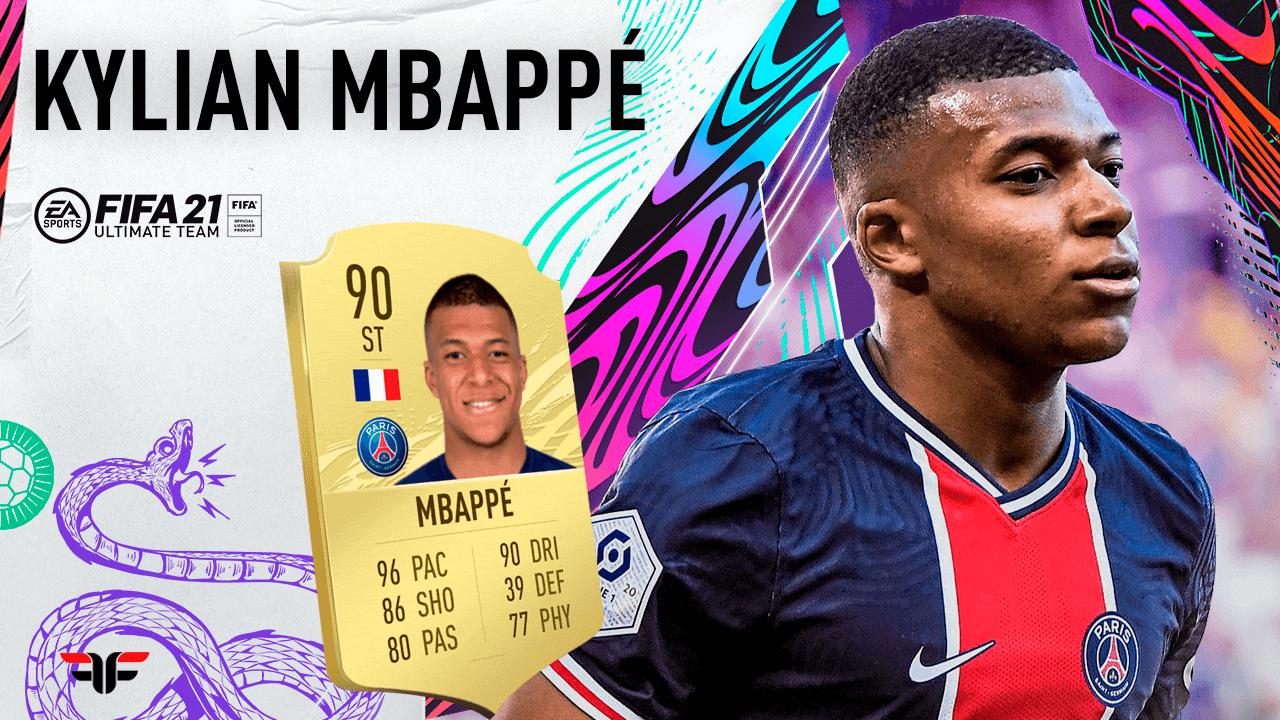 Mbappé en FIFA 21 Ultimate Team