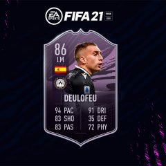 FIFA 21. Equipo para conseguir a Deulofeu Objetivos
