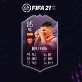 FIFA 21. Equipo para conseguir a Bellerín Objetivos