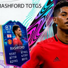 FIFA 21. Review de Marcus Rashford TOTGS