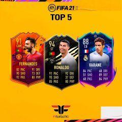 Los futbolistas más Meta de FIFA 21 Ultimate Team