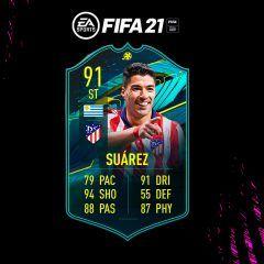 FIFA 21. Equipo para conseguir a Luis Suárez Moments