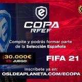 Empieza la 2ª edición de la eCopa RFEF de FIFA 21