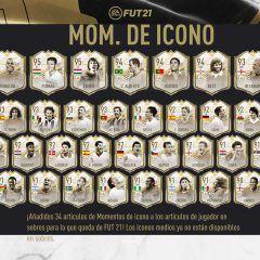 FIFA 21. Llegan los Iconos Prime Moments a Ultimate Team