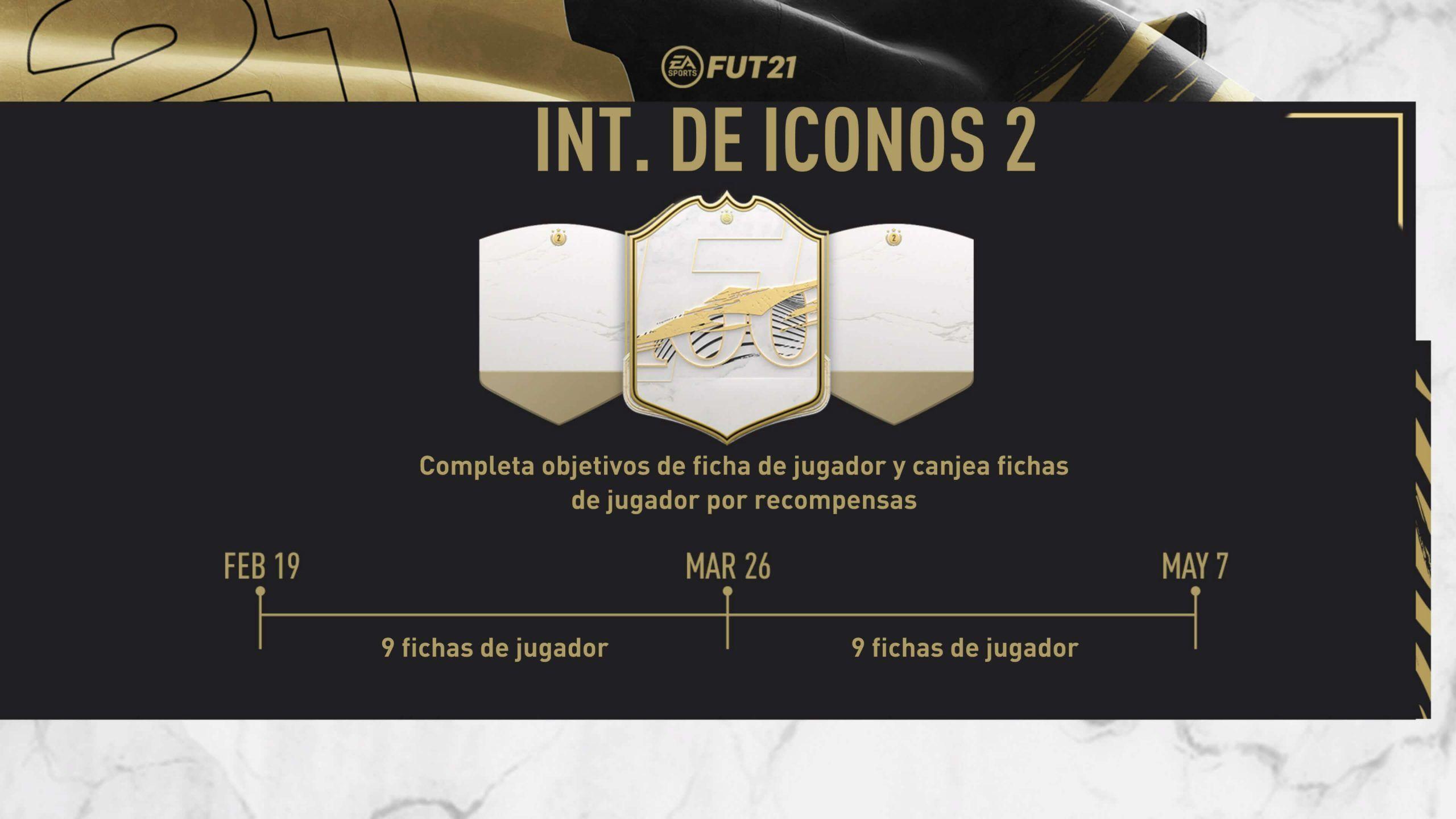 Intercambio de Iconos 2 de FIFA 21 Ultimate Team