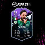 FIFA 21. Equipo para conseguir a Caputo What If