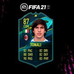 FIFA 21. Equipo para conseguir a Tonali Moments