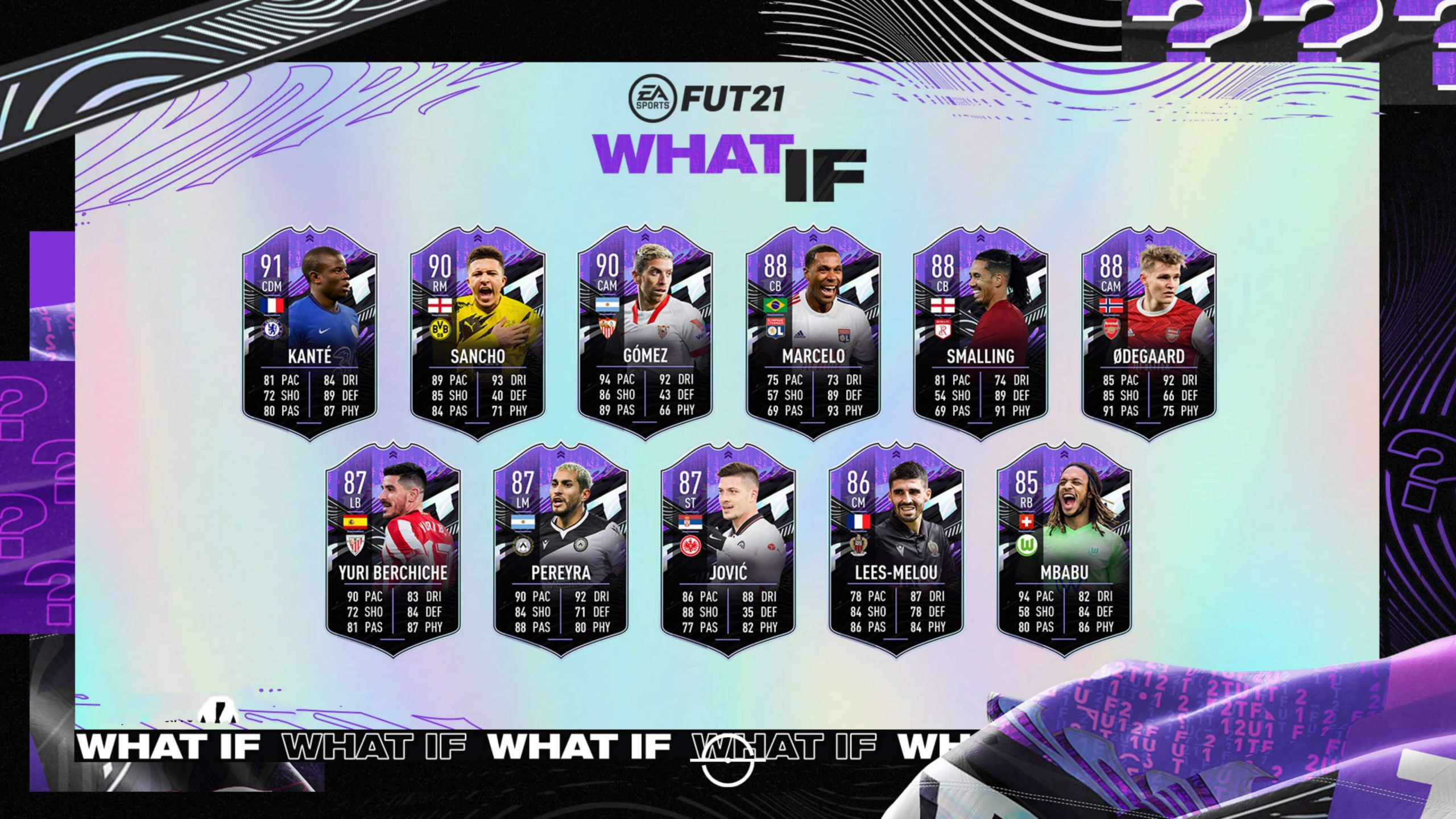 What If de FIFA 21 Ultimate Team