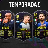 FIFA 21. Recompensas de la Temporada 5