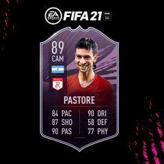 FIFA 21. Equipo para conseguir a Pastore Objetivos