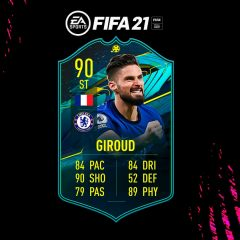 FIFA 21. Equipo para conseguir a Giroud Moments
