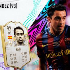 FIFA 21. Review de Xavi Hernández (93)