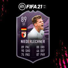 FIFA 21. Equipo para conseguir a Niederlechner Objetivos