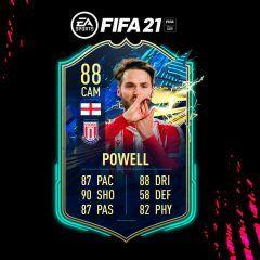 FIFA 21. Equipo para conseguir a Powell TOTS