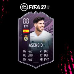 FIFA 21. Equipo para conseguir a Marco Asensio Objetivos