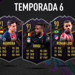 FIFA 21. Recompensas de la Temporada 6