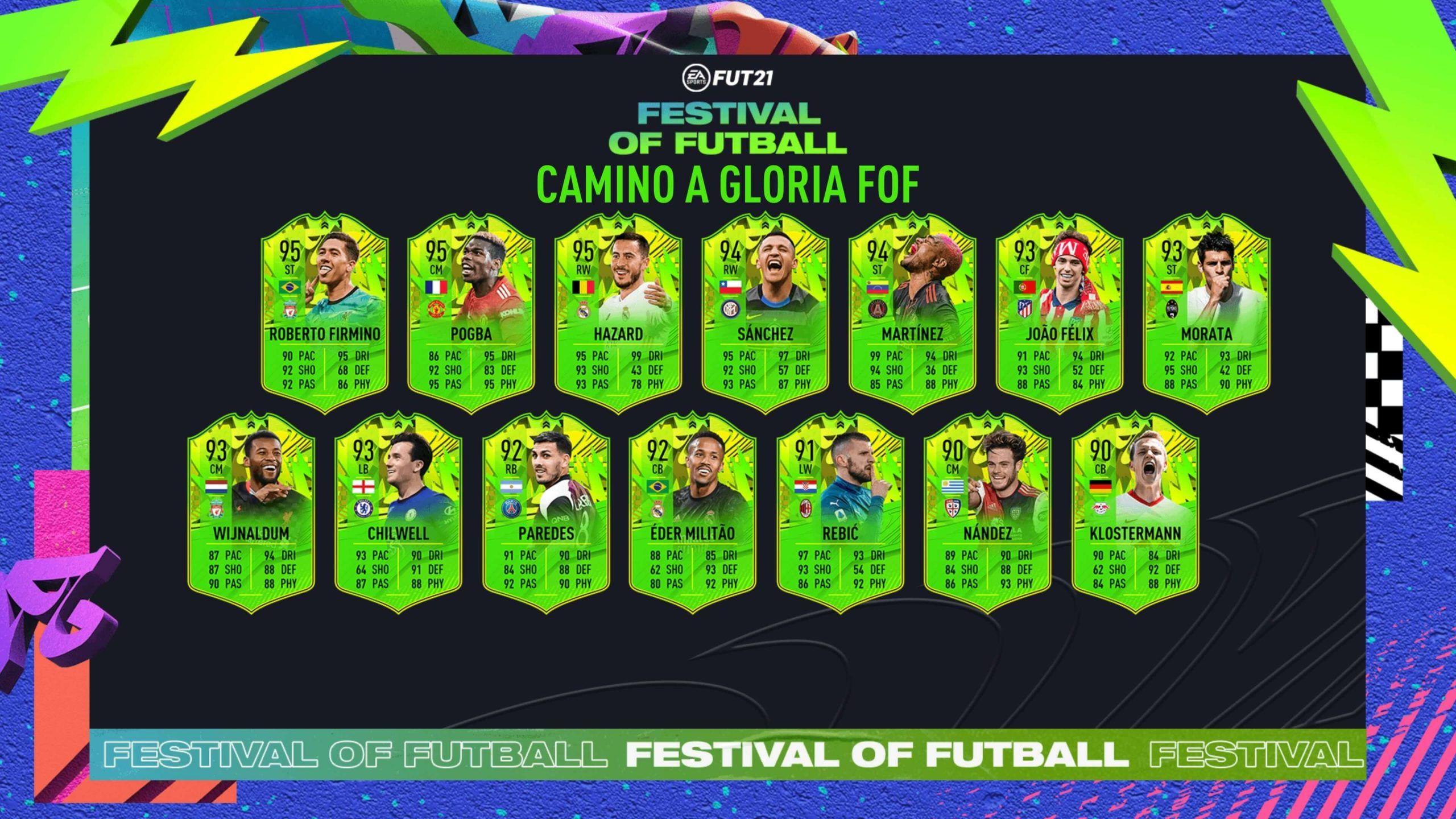 Segundo equipo de Festival of Futball de FIFA 21 Ultimate Team