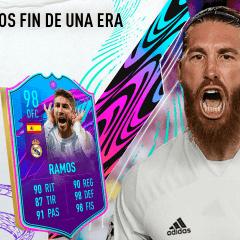 FIFA 21. Review de Sergio Ramos Fin de una Era