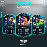 Los TOTS más utilizados de FIFA 21 Ultimate Team