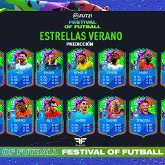 FIFA 21. Predicción del equipo Estrellas del Verano