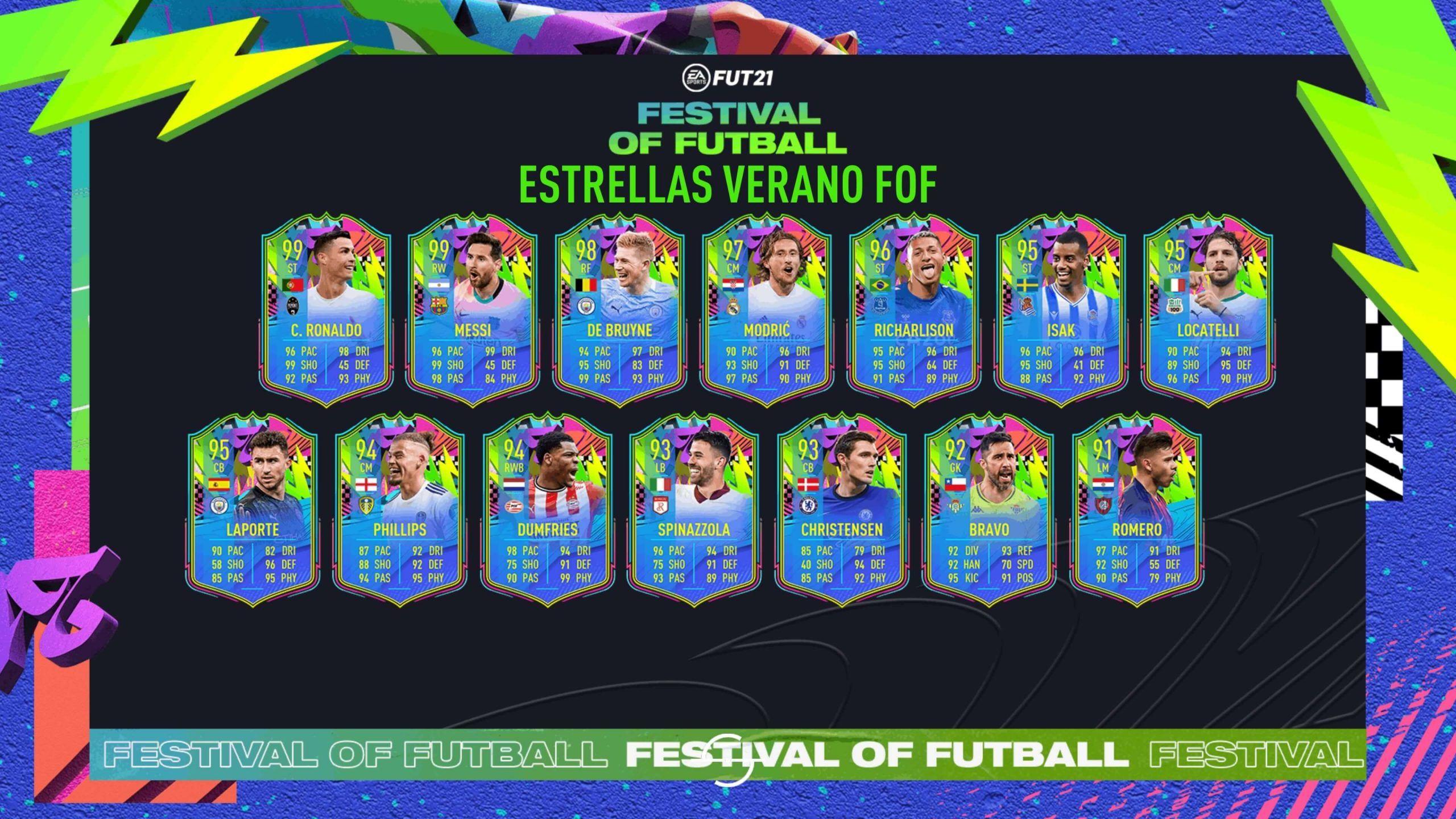 Estrellas del Verano de FIFA 21 Ultimate Team