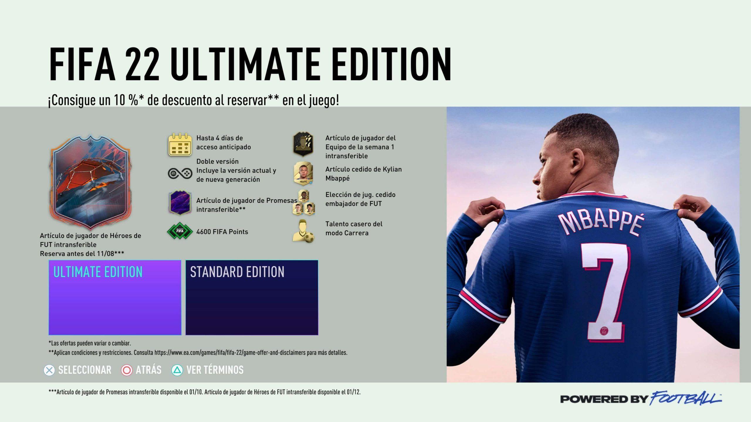 Ultimate Edition FIFA 22