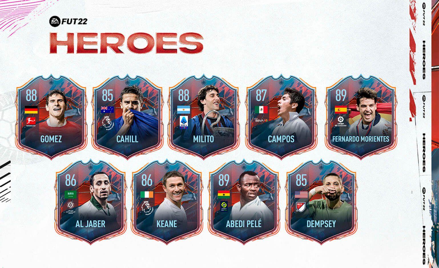 Héroes de FIFA 22
