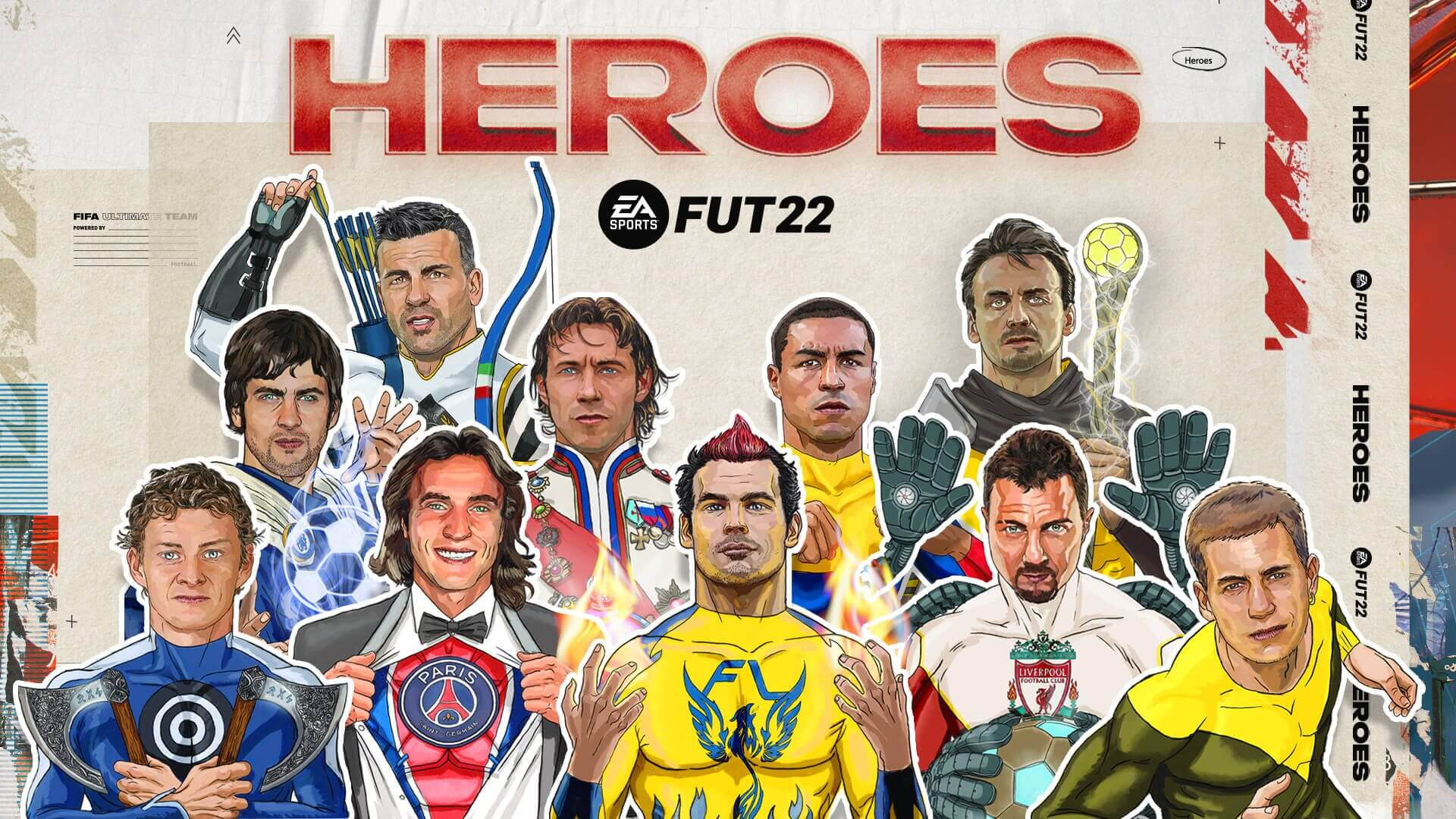 Héroes de FUT de FIFA 22 Ultimate Team