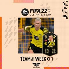 FIFA 22. Predicción del Team of the Week #01