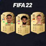 Los centrales más rápidos de FIFA 22