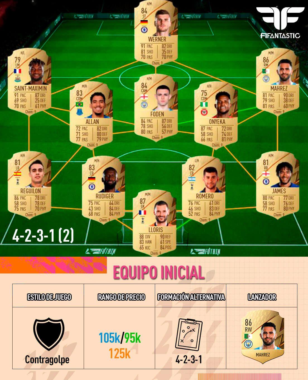 Jornada 1 de FUT Champions de FIFA 22
