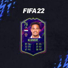 FIFA 22. Equipo para conseguir a Kluivert OTW