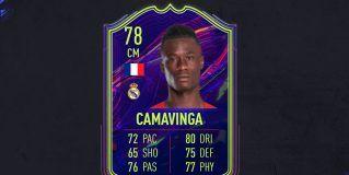FIFA 22. Equipo para conseguir a Camavinga OTW