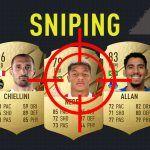 FIFA 22. Cómo buscar filtros de sniping