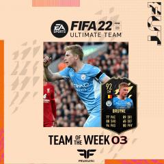 FIFA 22. Predicción del Team of the Week #03