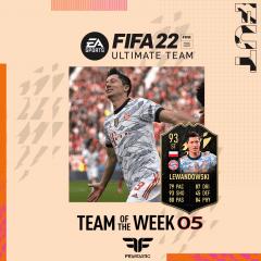 FIFA 22. Predicción del Team of the Week #05