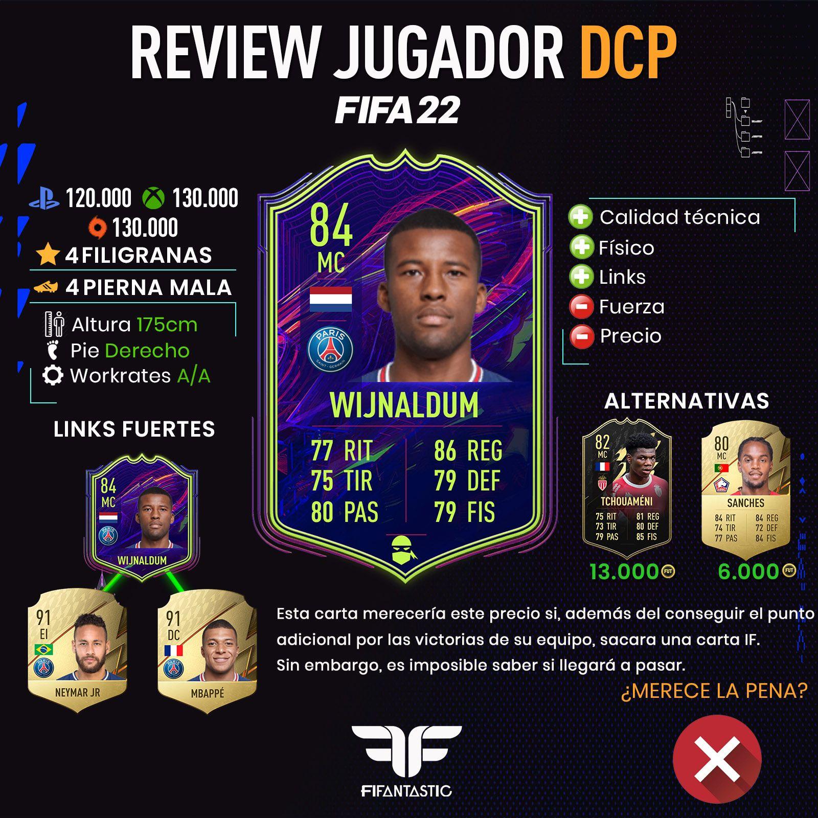 Wijnaldum Ones to Watch en FIFA 22 Ultimate Team